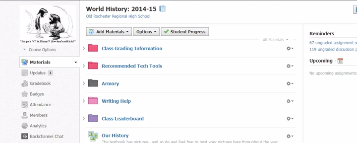 How To: Organize Your Blended Course Using Schoology [Video]