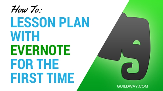 Lesson Plan With Evernote
