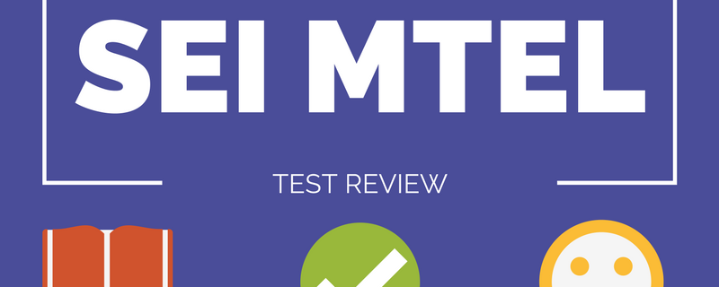SEI MTEL Review Course [Online]